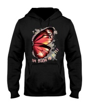 Butterfly Wing She Taught Me To Fly Shirt Hooded Sweatshirt thumbnail