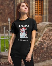 Christmas I Need A Huge Glass Of Wine Shirt Classic T-Shirt apparel-classic-tshirt-lifestyle-06