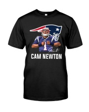 Welcome To Patriots Cam Newton Shirt Classic T-Shirt front