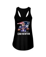 Welcome To Patriots Cam Newton Shirt Ladies Flowy Tank thumbnail