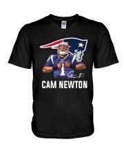 Welcome To Patriots Cam Newton Shirt V-Neck T-Shirt thumbnail