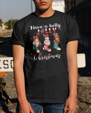 Santa Shoes Have A Holly Jolly Christmas Shirt Classic T-Shirt apparel-classic-tshirt-lifestyle-29