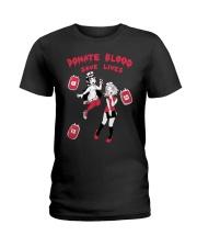 Echo Blood Save Lives Shirt Ladies T-Shirt thumbnail