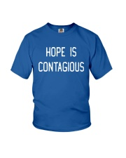 Steve Hofstetter Hope Is Contagious Shirt Youth T-Shirt thumbnail