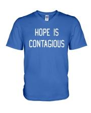 Steve Hofstetter Hope Is Contagious Shirt V-Neck T-Shirt thumbnail