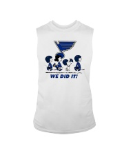 Peanuts St Louis Blues We Did It Shirt Sleeveless Tee thumbnail