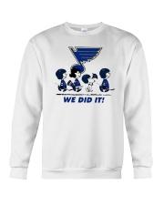 Peanuts St Louis Blues We Did It Shirt Crewneck Sweatshirt thumbnail