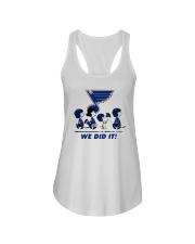 Peanuts St Louis Blues We Did It Shirt Ladies Flowy Tank thumbnail