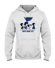 Peanuts St Louis Blues We Did It Shirt Hooded Sweatshirt thumbnail
