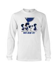 Peanuts St Louis Blues We Did It Shirt Long Sleeve Tee thumbnail
