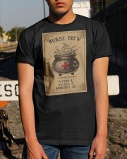 Nurse Brew Ativan 2 Haldol 3 Benadryl 50 Shirt Classic T-Shirt apparel-classic-tshirt-lifestyle-29