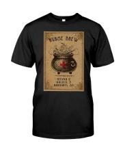 Nurse Brew Ativan 2 Haldol 3 Benadryl 50 Shirt Classic T-Shirt front