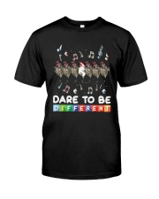 Chicken Dare To Be Different Shirt Classic T-Shirt front