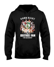 Damn Right I Am A Celtics Fan Now And Forever Shir Hooded Sweatshirt tile