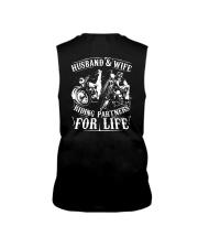 Husband And Wife Riding Partners For Life Shirt Sleeveless Tee thumbnail