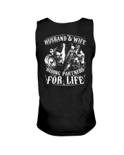 Husband And Wife Riding Partners For Life Shirt Unisex Tank thumbnail