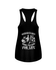 Husband And Wife Riding Partners For Life Shirt Ladies Flowy Tank thumbnail