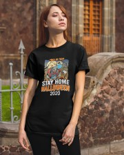 Trick Or Treat Stay Home Halloween 2020 Shirt Classic T-Shirt apparel-classic-tshirt-lifestyle-06