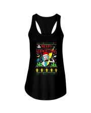 Morty Merry Schwiftmas Shirt Ladies Flowy Tank thumbnail