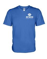 4for4 Fantasy Football Shirt V-Neck T-Shirt thumbnail