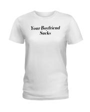 Swae Lee Lee Swae Your Boyfriend Sucks Shirt Ladies T-Shirt thumbnail