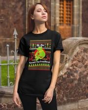 Ugly Christmas Hi Ho Kermit The Frog Here Shirt Classic T-Shirt apparel-classic-tshirt-lifestyle-06