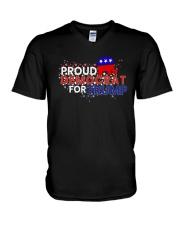 Proud Democrats For Trump Shirt V-Neck T-Shirt thumbnail