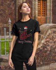 Hand Merry Christmas Shirt Classic T-Shirt apparel-classic-tshirt-lifestyle-06