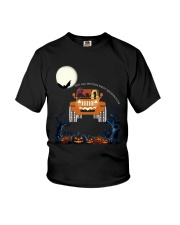 Halloween Not All Witches Drive Broomsticks Shirt Youth T-Shirt thumbnail