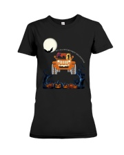 Halloween Not All Witches Drive Broomsticks Shirt Premium Fit Ladies Tee thumbnail