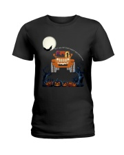 Halloween Not All Witches Drive Broomsticks Shirt Ladies T-Shirt thumbnail