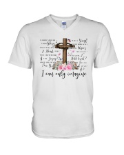 I Can Only Imagine Surrounded By Your Glory Shirt V-Neck T-Shirt thumbnail