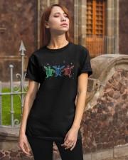 Christmas Lights Three Turtle Shirt Classic T-Shirt apparel-classic-tshirt-lifestyle-06