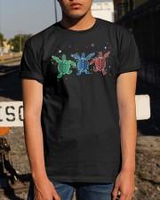 Christmas Lights Three Turtle Shirt Classic T-Shirt apparel-classic-tshirt-lifestyle-29