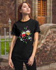 Wines Merry Christmas Light Shirt Classic T-Shirt apparel-classic-tshirt-lifestyle-06