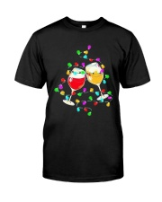 Wines Merry Christmas Light Shirt Classic T-Shirt front
