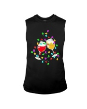Wines Merry Christmas Light Shirt Sleeveless Tee thumbnail