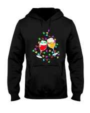 Wines Merry Christmas Light Shirt Hooded Sweatshirt thumbnail