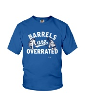 Barrels Are Overrated Los Angeles Shirt Youth T-Shirt thumbnail