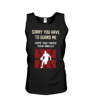 Sorry You Have To Guard Me Hope You Taped Shirt Unisex Tank thumbnail