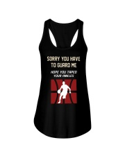 Sorry You Have To Guard Me Hope You Taped Shirt Ladies Flowy Tank thumbnail
