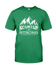 Creek Fire Mountain Strong T Shirt Premium Fit Mens Tee tile