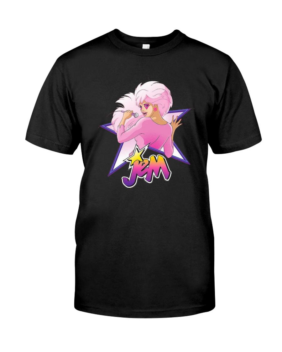 Outrageous Singer Jem Shirt Classic T-Shirt