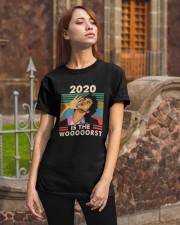 Vintage Jean Ralphio 2020 Is The Wooooorst Shirt Classic T-Shirt apparel-classic-tshirt-lifestyle-06