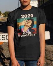 Vintage Jean Ralphio 2020 Is The Wooooorst Shirt Classic T-Shirt apparel-classic-tshirt-lifestyle-29