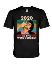 Vintage Jean Ralphio 2020 Is The Wooooorst Shirt V-Neck T-Shirt thumbnail