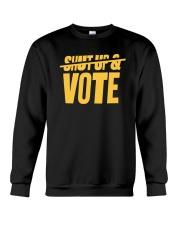 Shut Up Vote Stephen Curry T Shirt Crewneck Sweatshirt thumbnail