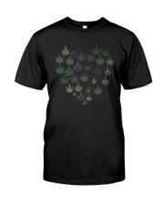 Heart Hippie Love Weed Shirt Premium Fit Mens Tee thumbnail
