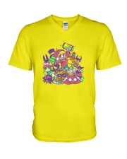 A Hat In Time Mustache In Time Shirt V-Neck T-Shirt thumbnail