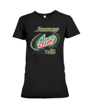 Jesus Meant To Die For You Shirt Premium Fit Ladies Tee thumbnail